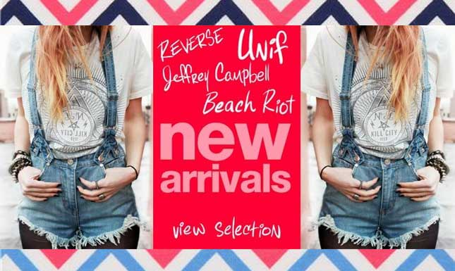 New Arrivals to Miss KL: UNIF, Jeffrey Campbell, Lime Crime and More!