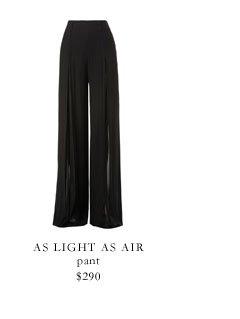 as light as air
