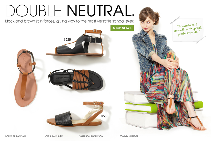 DOUBLE NEUTRAL. SHOP NOW.