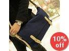 Belted Canvas Messenger Bag