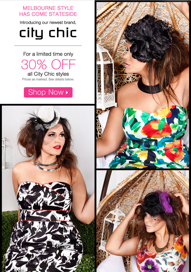 30% off all City Chic Styles