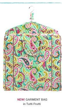 NEW! Garment Bag in Tutti Frutti