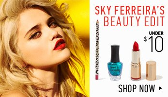 Sky Ferreira's Makeup Edit - Shop Now
