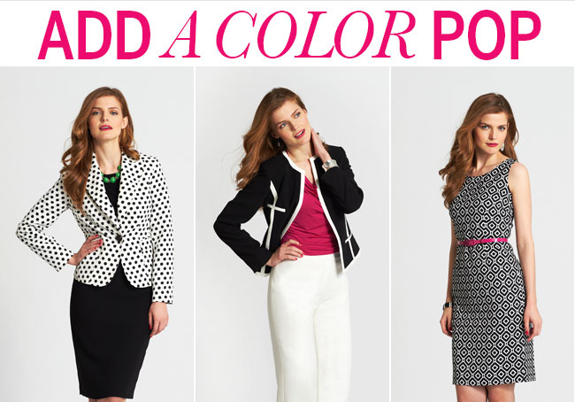 ADD A COLOR POP!