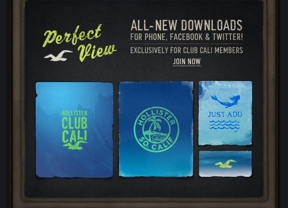 PERFECT VIEW ALL-NEW DOWNLOADS FOR PHONE, FACEBOOK & TWITTER! EXCLUSIVELY FOR CLUB CALI MEMBERS JOIN NOW