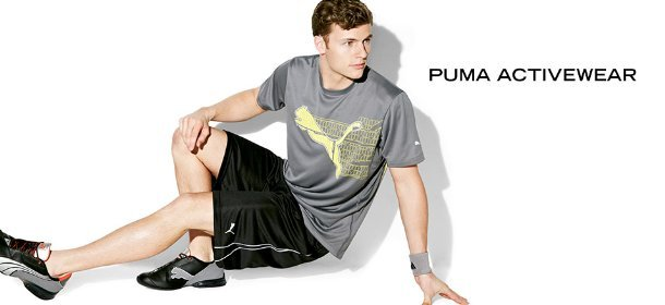 PUMA ACTIVEWEAR, Event Ends March 30, 9:00 AM PT >