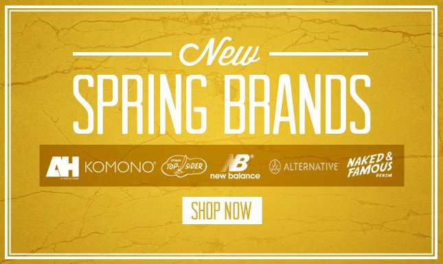 New Arrivals: New Balance, Naked & Famous, Alternative Apparel and More!