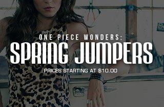 One Piece Wonders: Spring Jumpers