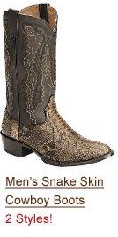 Shop Men's Snake Boots