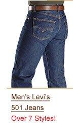 Shop Men's Levi's 501 Jeans