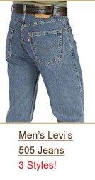 Shop Men's Levi's 505 Jeans
