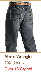 Shop Wrangler 20X Jeans