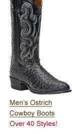 Shop Men's Ostrich Boots