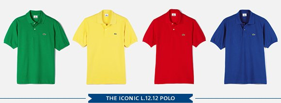 THE ICONIC L.12.12 POLO