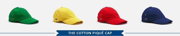 THE COTTON PIQUE CAP