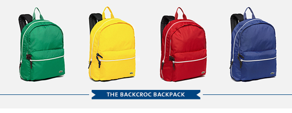 THE BACKCROC BACKPACK