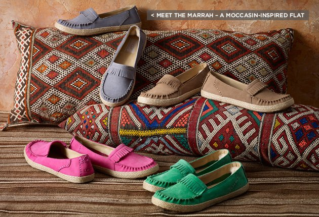 < Meet the Marrah – a moccasin-inspired flat
