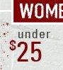 Shop Women's Sale Under $25