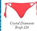 Crystal Diamante Briefs