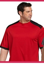 Reebok Play Dry® Colorblock Tech Top