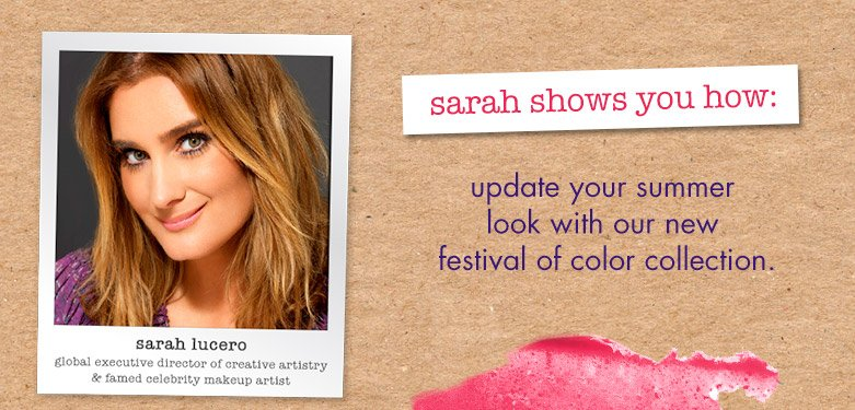 sarah shows you how to update your summer look