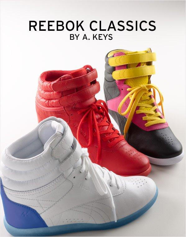 REEBOK CLASSICS BY A. KEYS