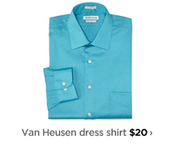 Van Heusen dress shirt $20›