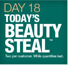 Day 18, Today's Beauty Steal.