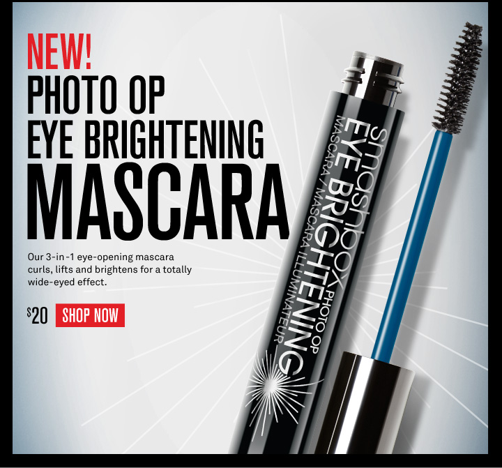 New! Photo Op Eye Brightening Mascara