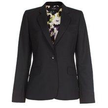 Black Single Button Jacket