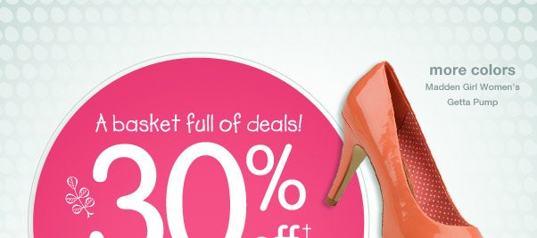 Enjoy A Basket Full Of Deals…