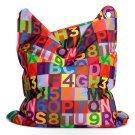 51 in. ABC Bean Bag Chair