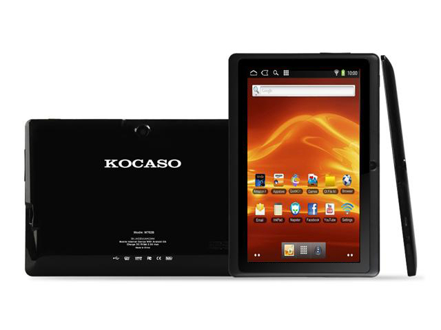 KOCASO M752 Android 4.0 7 inch Capacitive Multi-touch Tablet PC - 4GB, 1.2GHz, 512MB DDR3, Black