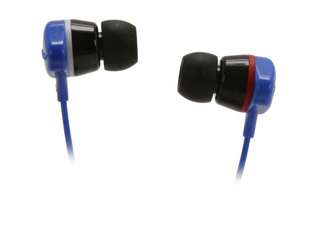 Pioneer SE-CL331-L 3.5mm Connector Canal Water-Resistant Earbud Headphone (Blue)