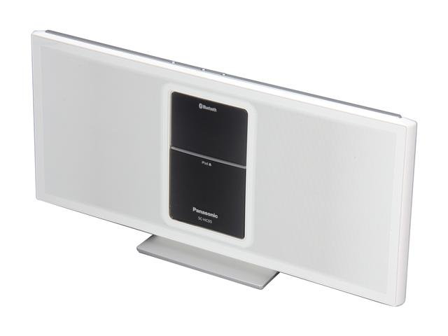 Panasonic SC-HC05 Bluetooth iPod Speakers Dock - White