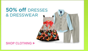 50% off DRESSES & DRESSWEAR | SHOP CLOTHING