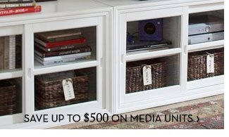 SAVE UP TO $500 ON MEDIA UNITS