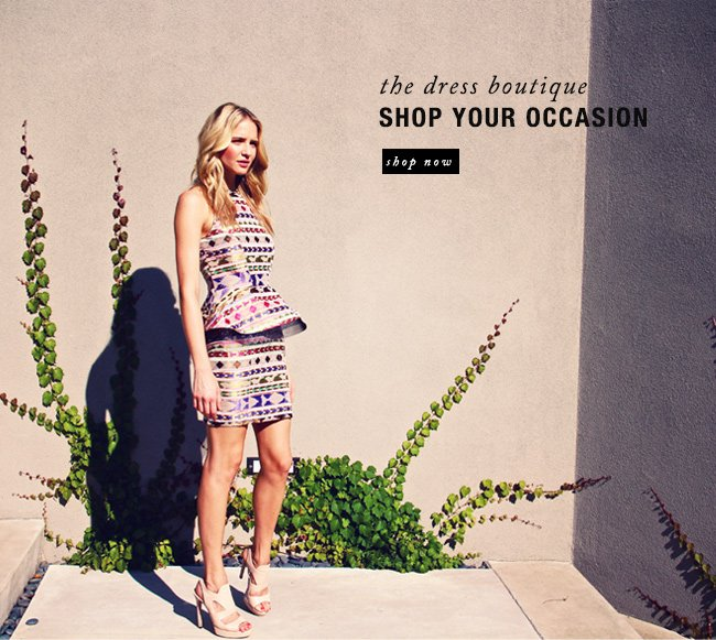 shop your occaision