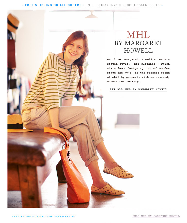 Shop MHL by Margaret Howell