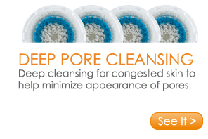 Deep Pore Cleansing Deep cleansing for congested skin to help minimize appearance of pores. See It >