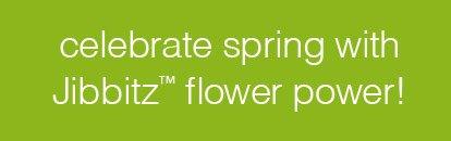 celebrate spring with Jibbitz™ flower power!