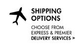 SHIPPING OPTIONS. CHOOSE FROM EXPRESS & PREMIER DELIVERY SERVICES