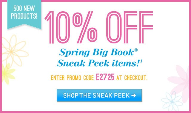 Spring Big Book Sneak Peek