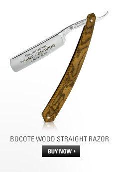 Bocote Wood Straight Razor - Shop Now