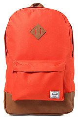 The Heritage Backpack in Camper Orange