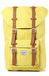 The Little America Mid Volume Backpack in Lime Punch