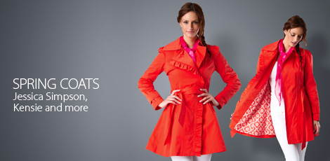 Last chance Spring Coats Jessica Simpson, Kensie and more