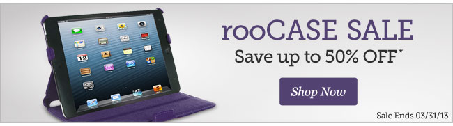 rooCase Sale | Save up to 50% Off | Shop Now