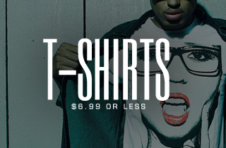 Tees: $6.99 or Less