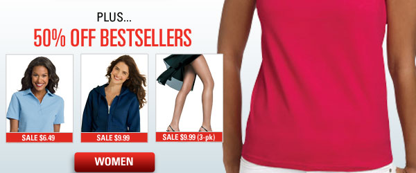 50% off Bestsellers For Her